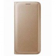 Lava Iris A89 Synthetic Leather Flip Cover Case For Lava Iris A89 (Golden) By Vinnx