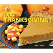 What Is Thanksgiving? by Elaine Landau