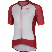 Castelli Climber's 2.0 Short Sleeve Jersey - White/Red - XL