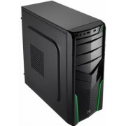 Aerocool V2X - Midi-Tower Black/Green