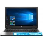 "Laptop HP ProBook 650 G2 (Procesor Intel® Core™ i5-6200U (3M Cache, up to 2.80 GHz), Skylake, 15.6""FHD, 8GB, 256GB SSD, Intel HD Graphics 520, Wireless AC, FPR, Win10 Pro 64) + Jucarie Fidget Spinner OEM, plastic (Albastru)"