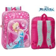 4252451 Zaino scuola e tempo libero Elsa ( Frozen ) Disney 33 x 42 x 20 cm