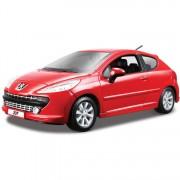 Peugeot 207 1:24 rood