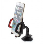 Univerzális autós telefon tartó szélvédőre tapadókorongos 48-95mm - Mobilephone Holder 11862