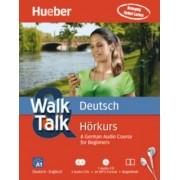 Walk & Talk Deutsch Hörkurs, 2 Audio-CDs + MP3-CD + Begleitheft