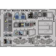 Eduard Photoetch 1:32 - Harrier GR.Mk.7 Interior S.A. (Trumpeter) - EDP32717