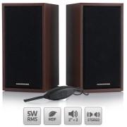 Boxe Modecom MC-SF05 negru+maro