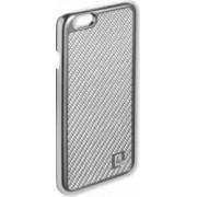 Skin 4smarts Modena Clip Carbon Pentru iPhone 6/6S Argintiu