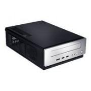 Antec ISK 310-150 - Extraplano de sobremesa - mini ITX - Adaptateur de courrant 150 vatios - noir, plata - USB/Audio/E-SATA