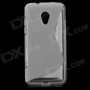 "Type de bo?tier de protection en TPU Retour Anti-Slip ""S"" pour HTC Desire 700 - Blanc"