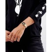 Casio Black & Gold Mini Digital Watch LA670WEGA-1EF - Black