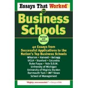 Essays That Worked for Business SC by Boykin Curry
