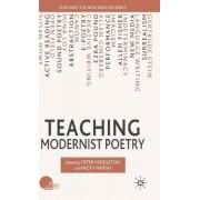 Teaching Modernist Poetry by Nicky Marsh