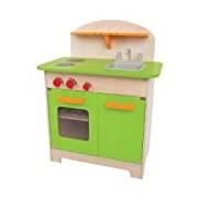 Hape HAP-E3101 Green Gourmet Kitchen Playset