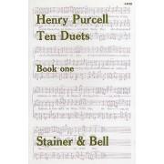 STAINER AND BELL PARTITIONS CHANT - PURCELL - TEN DUETS, BOOK 1 Partition classique Vocale - chorale Choeur et ensemble vocal