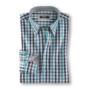 Walbusch Extraglatt-Hemd Soft Twill Blau 40