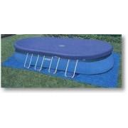 Intex Abdeckplane für Oval-Frame Pools 549 x 305 x 107 cm 10871