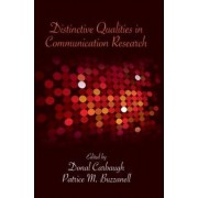 Distinctive Qualities in Communication Research by Donal Carbaugh