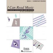 I Can Read Music, Book 2, Elementary Reading by Nancy Faber