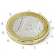 Magnet neodim disc, diametru 1 mm, putere 25 g