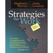 Strategies That Work by Stephanie Harvey