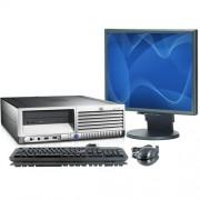 HP DC7700 C2D 4GB PC + 19inch LCD
