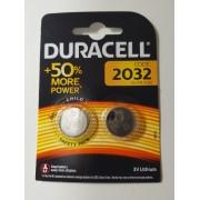 Duracell DL2032 CR2032 3V Lithium 1er-Blister