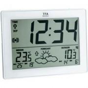 Vezeték nélküli időjárásjelző állomás fekete TFA 35-1125-01-IT (515989)