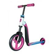 Scooter / Laufrad Scoot & Ride Highwaybuddy pink-blau