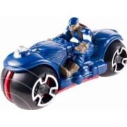 Figurina Hot Wheels Motociclist Captain America
