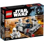 Lego star wars battle pack speeder da trasporto del primo ordine