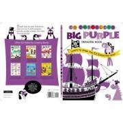 Ed Emberley's Big Purple Drawing Book by Ed Emberley