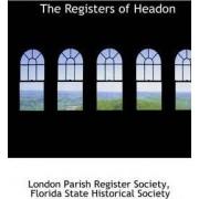 The Registers of Headon by London Parish Register Society