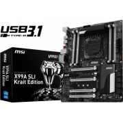 Placa de baza MSI X99A SLI Krait Edition Socket 2011-3 Bonus Bonus Nvidia Be the + MSI Cash Back Promo