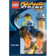 LEGO 6732 Island Xtreme Stunts - Juego de dobles en películas de acción
