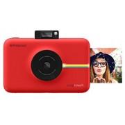 Polaroid SNAP Touch Cámara digital con impresión instantánea y pantalla LCD (rojo) con tecnología Zero Zink