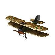 Sopwith Camel Távirányítós Repülőgép - barna