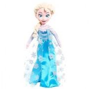 Disney Frozen Medium Talking Elsa Plush with Vinyl Face