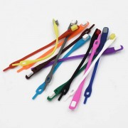 39 Lazy Shoe Laces Assorted Neon 12 st