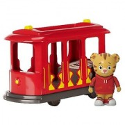 Daniel Tigers Neighborhood Trolley with Daniel Tiger Figure