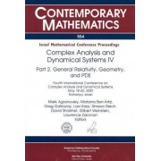 Complex Analysis and Dynamical Systems IV by Mark Agranovsky