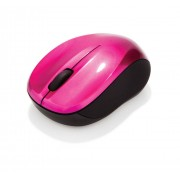 Mouse wireless Verbatim 49043 GO Nano roz