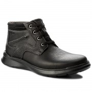 Обувки CLARKS - Cotrell Rise 261196127 Black Oily Leather