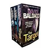 David Baldacci Will Robie Series 3 Books Collection Set Hit The Innocent The Target)