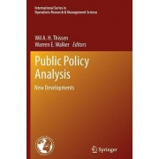 Public Policy Analysis by Wil A. H. Thissen