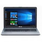 """ASUS X541NA-GQ171T N3350 15.6"""" HD matny UMA 4GB 500GB WL DVD/RW Cam Win10 strieborny"""