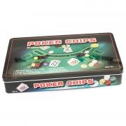Set profesional de poker cu 300 de piese
