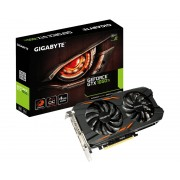 GIGABYTE nVidia GeForce GTX 1050 4GB 128bit GV-N105TWF2OC-4GD rev.1.0