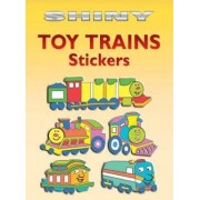 Shiny Toy Trains Stickers by Cathy Beylon