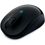 Mouse Microsoft Wireless Sculpt Mobile (Negru)